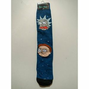 Other - Mens socks size 6-12, adult swim Rick and Morty